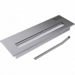 BRUCIATORE 1,5 lit acciaio